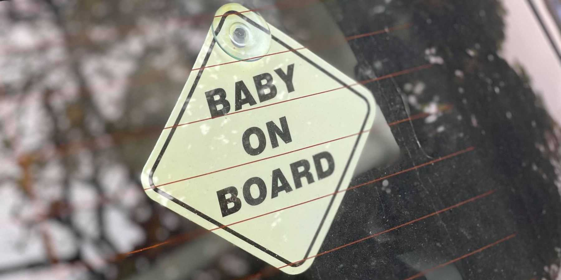 Best Baby On Board Badge