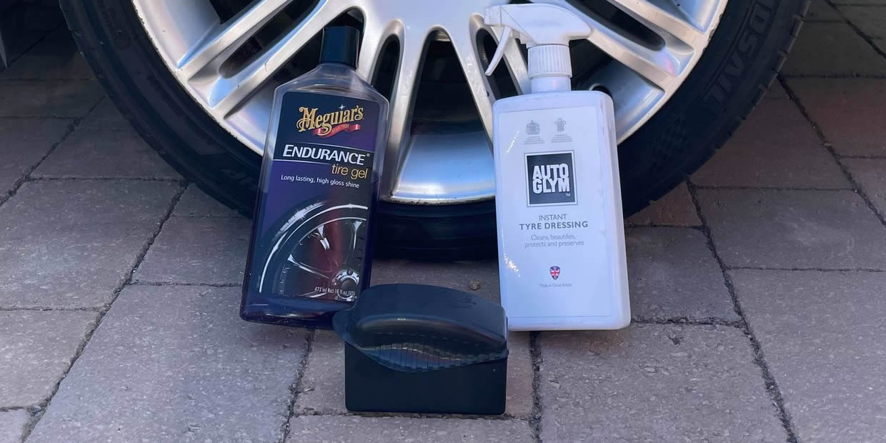 How To Apply Tyre Dressing