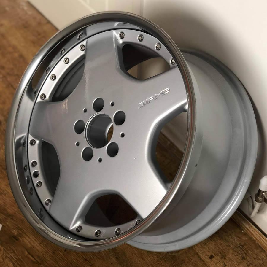 average cost of alloy wheel refurbishment