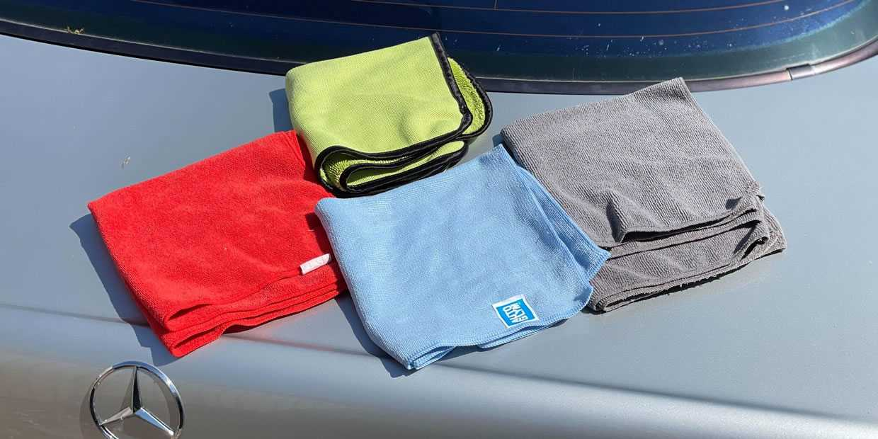 best microfiber cloth for cars