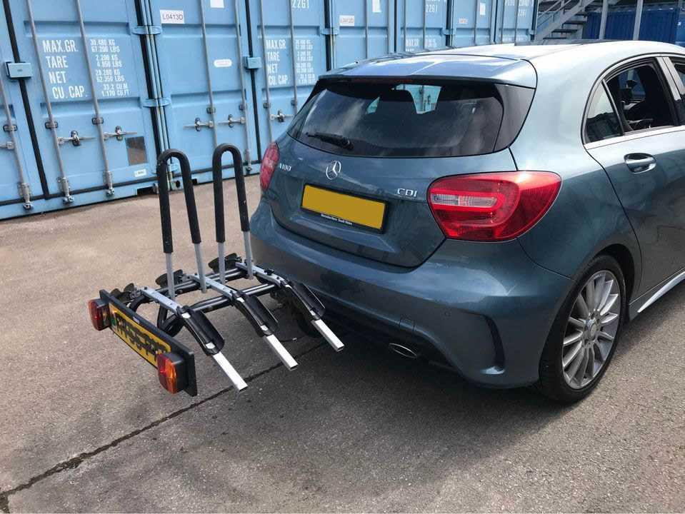 best towbar mounted bike rack