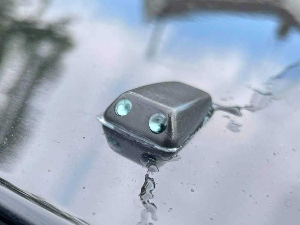 blocked windscreen washer jets