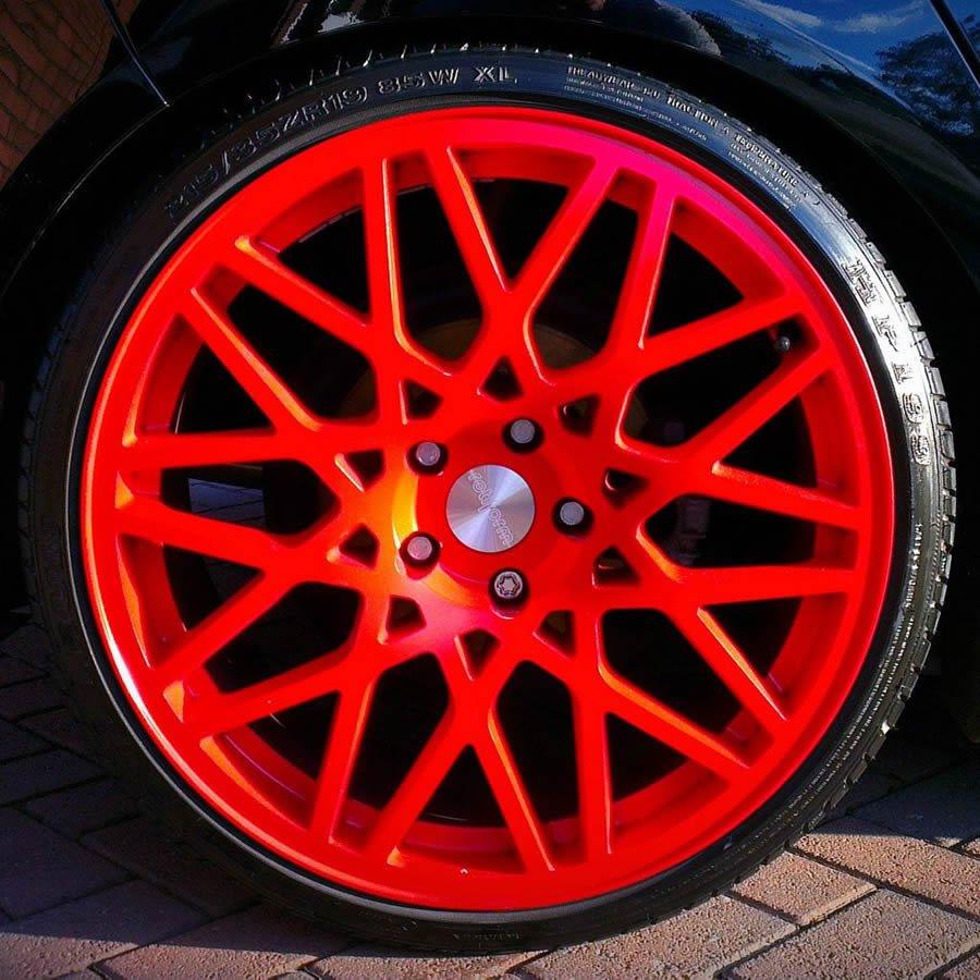 cost of alloy wheel refurbishment