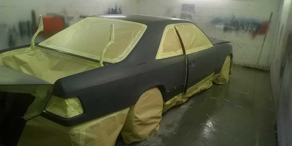 how much to respray a car