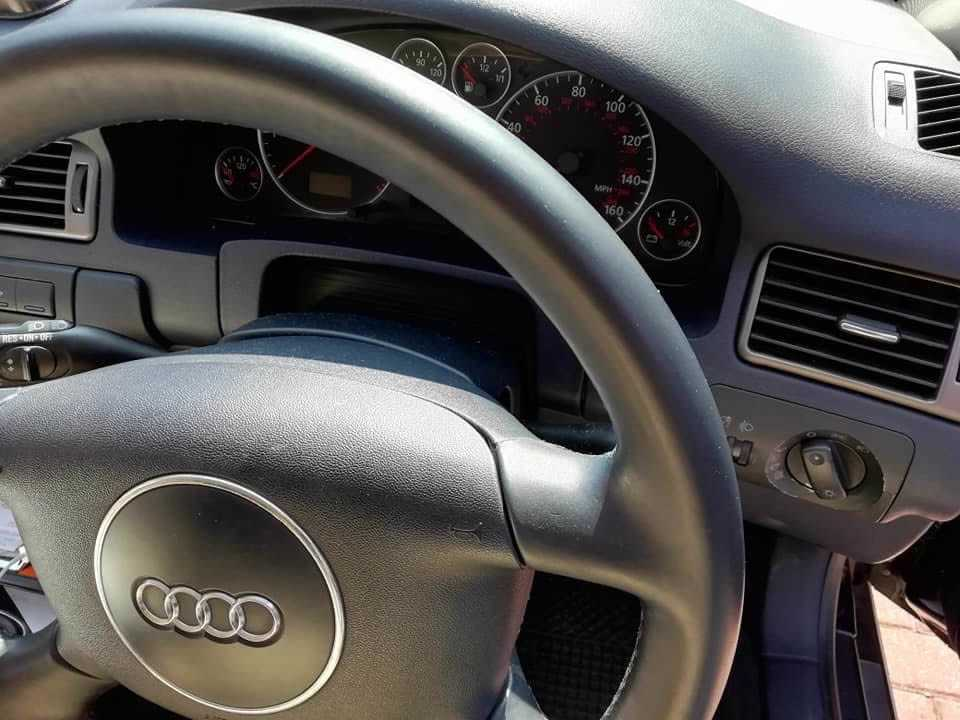 how to clean sticky leather steering wheel