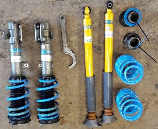 what are coilovers